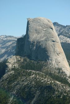 Free Half Dome The Glacier Point Stock Image - 6255231
