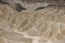 Free Zabriskie Point Royalty Free Stock Photos - 6255278