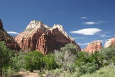 Free Zion National Park Royalty Free Stock Photo - 6255285