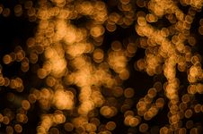 Free Gold Light Spots Royalty Free Stock Photography - 6255297