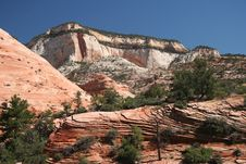 Free Zion National Park Stock Photography - 6255332