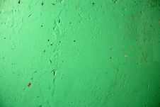 Free Green Wall Texture Royalty Free Stock Photography - 6256827
