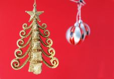 Free Christmas Baubles Royalty Free Stock Image - 6256876