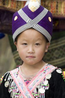Free Laos Hmong Girl Stock Images - 6256904