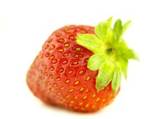 Free Strawberry In Zoom Stock Photography - 6256972