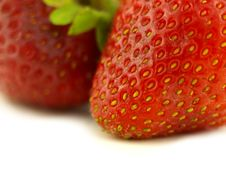 Free Strawberry In Zoom Royalty Free Stock Images - 6257019