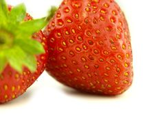 Free Strawberry In Zoom Stock Images - 6257174