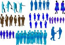 Free Blue People Stock Photos - 6257223