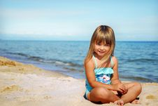 Free On The Beach Stock Images - 6257324