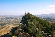 Free View At San-Marino Castle Stock Image - 6257571
