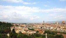 Free Panarama Of Florence Stock Photography - 6257632