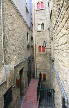 Free Old Italian Street Stock Photos - 6257633