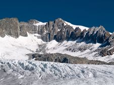 Free View Of Edge Of Rhone Glacier, Switzerland Stock Photography - 6257752