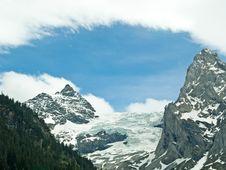 Free View Of Rosenlaui Glacier, Switzerland Stock Photo - 6257770