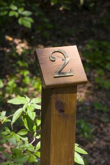 Free Two Mile Marker Royalty Free Stock Images - 6257789