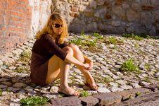 Free Thoughtful Beauty Woman Stock Photography - 6257792