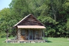 Free Old Log Cabin Royalty Free Stock Photography - 6258377