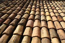 Free Ceramic Roof Royalty Free Stock Image - 6258466