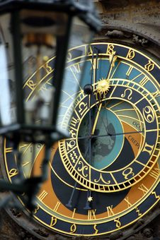 Free Astronomical Clock Royalty Free Stock Image - 6258496