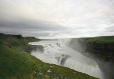 Free View Over Gulfoss Stock Image - 6258551