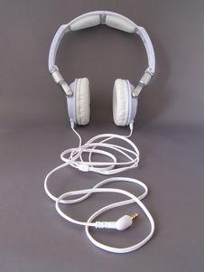 Free White Headphones Royalty Free Stock Photography - 6258677