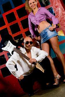 Night Club Royalty Free Stock Photo