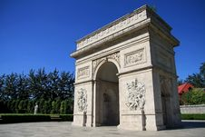 Free Arch Of Triumph In China Royalty Free Stock Photos - 6259258