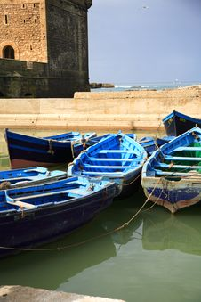 Essaouira Harbour Stock Photo