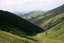 Free Mountain In Morning Stock Image - 6259511