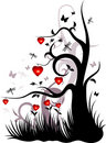 Free Valentine S Background With The Garden Royalty Free Stock Images - 6263209