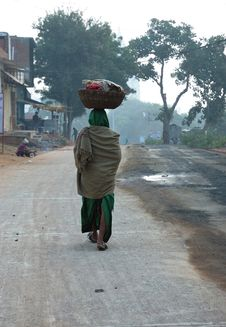 Free Street Life In India Early In The Morning Stock Photos - 6260273