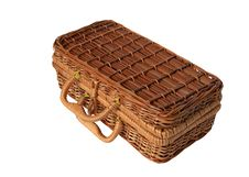 Free Wicker Basket Royalty Free Stock Image - 6260346