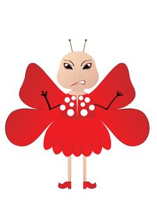 Free Red Butterfly Stock Image - 6260471