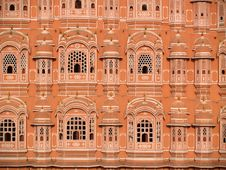 Free Hawa Mahal, The Palace Of Winds, Jaipur, Rajasthan Stock Images - 6260534