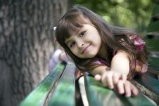 Free Girl In Summer Park Royalty Free Stock Photos - 6260548