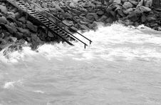 Free Stairway To The Ocean Stock Image - 6261451