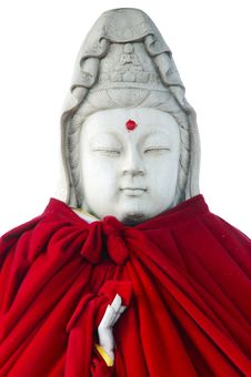 Free Bodhisattvas Statue Portrait Royalty Free Stock Images - 6261579