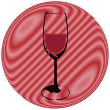 Free A Glass (vector) Royalty Free Stock Images - 6262569