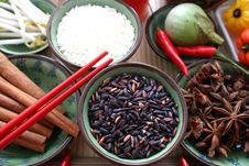 Asian Rice Royalty Free Stock Photo
