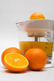 Free Modern Juice Extractor Royalty Free Stock Images - 6262779