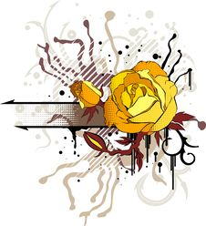 Free Yellow Rose Stock Photo - 6263180