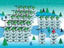 Free Snowmen Army Stock Photos - 6263313