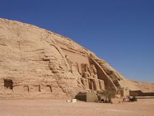 Free Egyptian Temple In Abu Simbel02 Stock Photography - 6263852