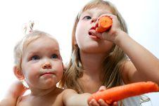 Free Carrots Stock Image - 6265231