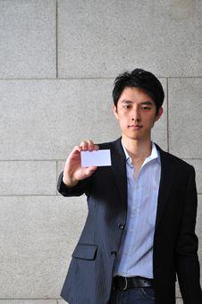 Free Asian Man With Namecard 6 Stock Photos - 6265583