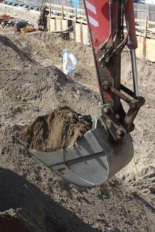 Free Excavator Bucket Stock Image - 6265791