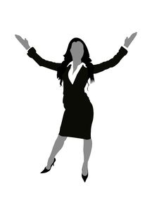 Free Lady With Open Arms Stock Photos - 6265873