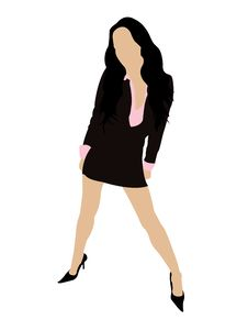 Free Fashionable Woman Royalty Free Stock Photography - 6265887