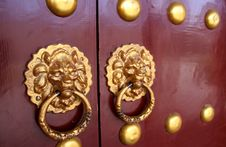 Free Chinese Elements - Door To Door Central Royalty Free Stock Image - 6266156