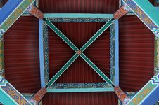 Free Chinese Elements - Color Pavilion At The Top Royalty Free Stock Photos - 6266898